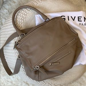 Givenchy Medium Pandora Bag in Taupe/Tan